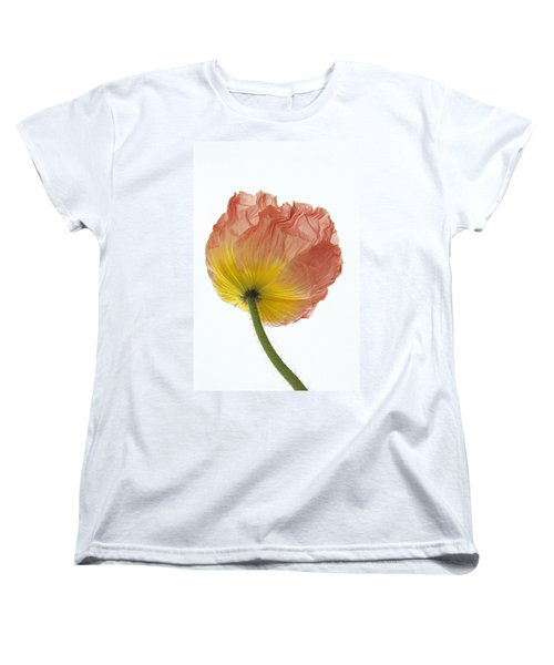 Women's T-Shirt (Standard Cut) featuring the photograph Iceland Poppy 1 by Susan Rovira
