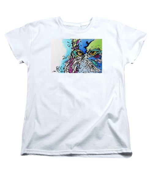 Women's T-Shirt (Standard Cut) featuring the painting Immutable by Nicole Gaitan