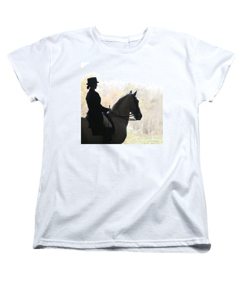 Women's T-Shirt (Standard Cut) featuring the photograph In The Distance by Carol Lynn Coronios