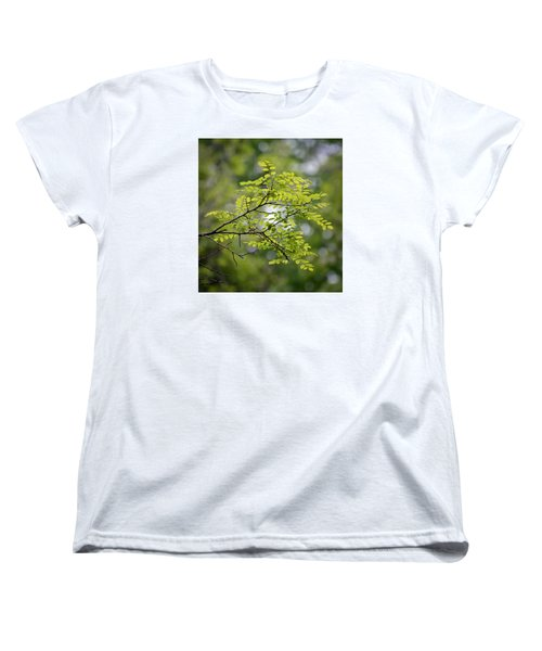 Women's T-Shirt (Standard Cut) featuring the photograph In The Green by Kerri Farley