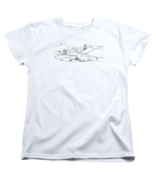 In The Land Of Brigadoon  Women's T-Shirt (Standard Cut) by Kip DeVore