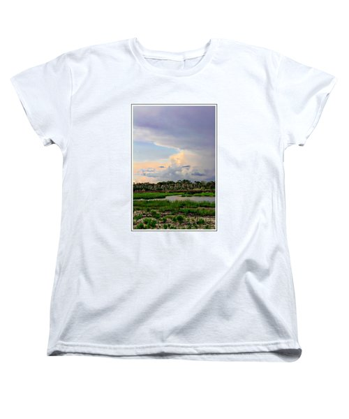 Intracoastal Colours Women's T-Shirt (Standard Cut) by Alice Gipson