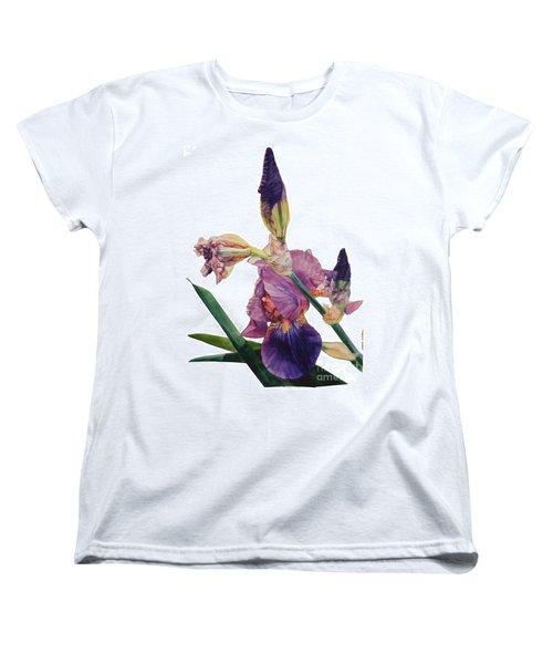 Iris Rhapsody Women's T-Shirt (Standard Cut) by Greta Corens