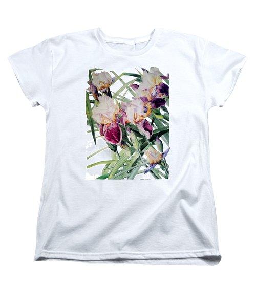 Iris Vivaldi Spring Women's T-Shirt (Standard Cut) by Greta Corens