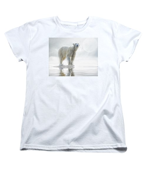 Is Anyone Out There? Women's T-Shirt (Standard Cut) by Brian Tarr