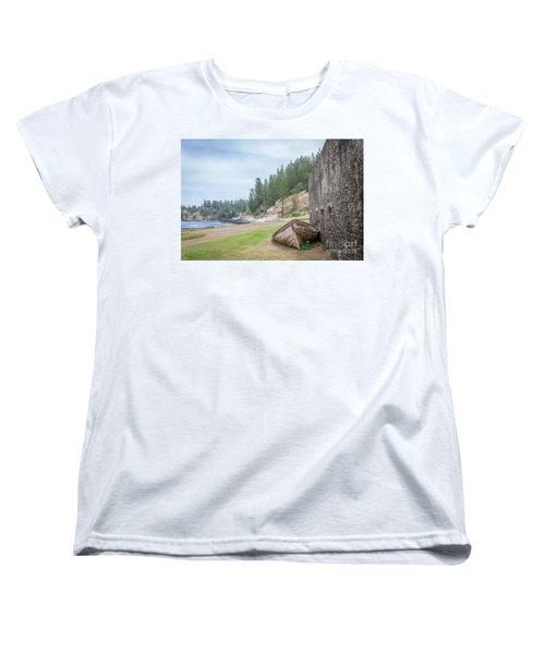 It's Over Women's T-Shirt (Standard Cut) by Jola Martysz