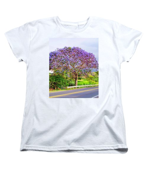 Jacaranda 4 Women's T-Shirt (Standard Cut) by Dawn Eshelman