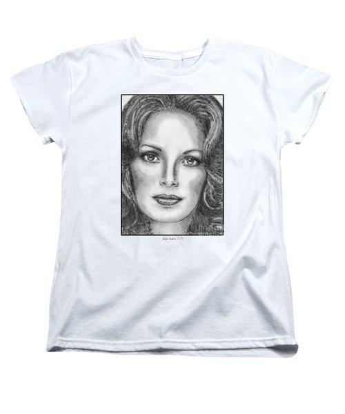 Jaclyn Smith In 1976 Women's T-Shirt (Standard Cut) by J McCombie