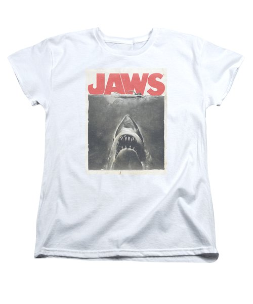 Jaws - Classic Fear Women's T-Shirt (Standard Cut) by Brand A