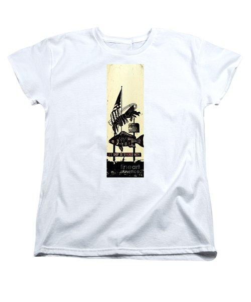 Joe Patti Women's T-Shirt (Standard Cut) by Janice Spivey