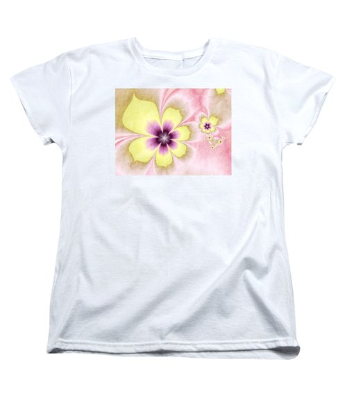 Women's T-Shirt (Standard Cut) featuring the digital art Joy by Gabiw Art