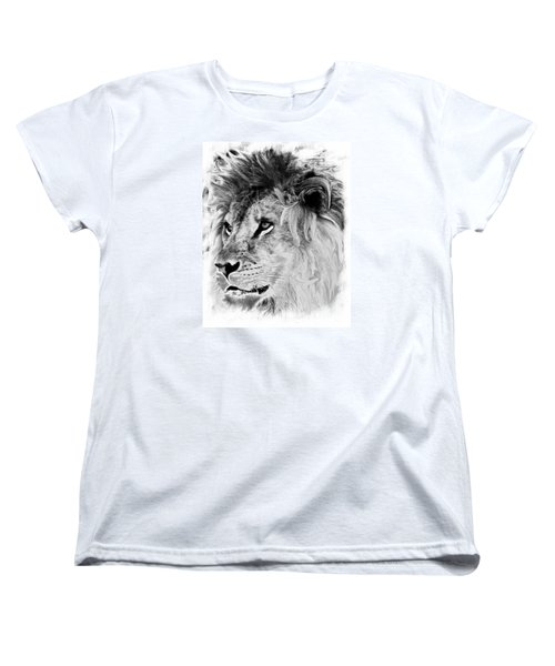 Jungle King Women's T-Shirt (Standard Cut) by Marcia Lee Jones