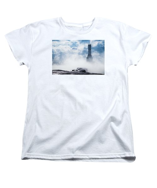 Just Cold And Disappear Women's T-Shirt (Standard Cut) by James  Meyer
