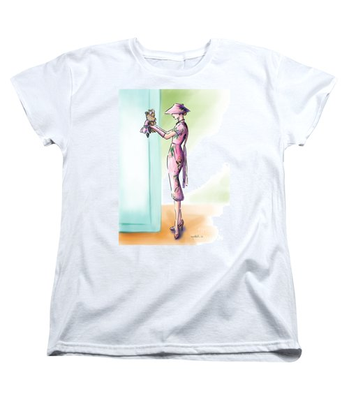 Just Like Mommy Women's T-Shirt (Standard Cut) by Catia Cho
