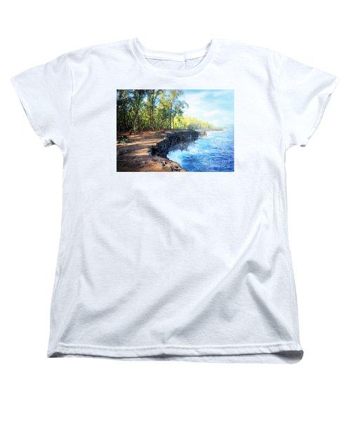 Kaloli Point Hawaii Women's T-Shirt (Standard Cut) by Ellen Cotton