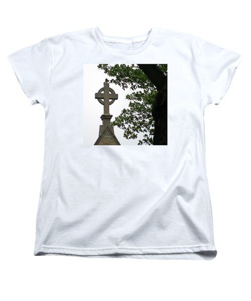 Women's T-Shirt (Standard Cut) featuring the photograph Keeping The Faith by Kay Novy