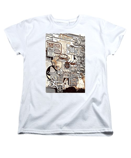 Kellogg's Wall Women's T-Shirt (Standard Cut) by Sennie Pierson