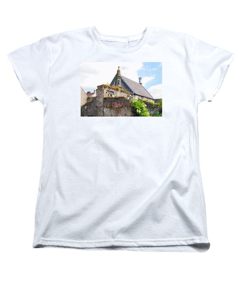 Women's T-Shirt (Standard Cut) featuring the photograph Kilkenny House by Mary Carol Story