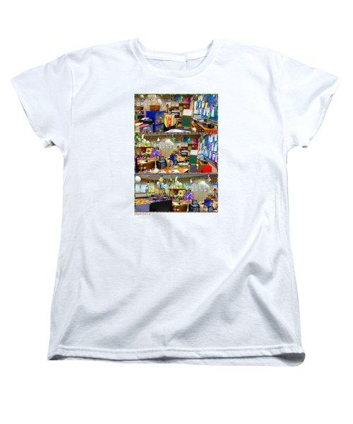 Kindergarten Classroom Women's T-Shirt (Standard Cut) by Tina M Wenger