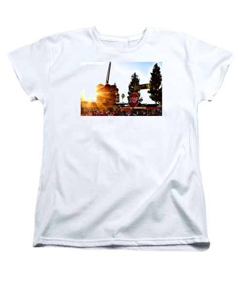 King's Endeavour Women's T-Shirt (Standard Cut) by Gregory Worsham