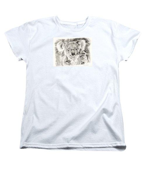Koala Garage Girl Women's T-Shirt (Standard Cut) by Remrov