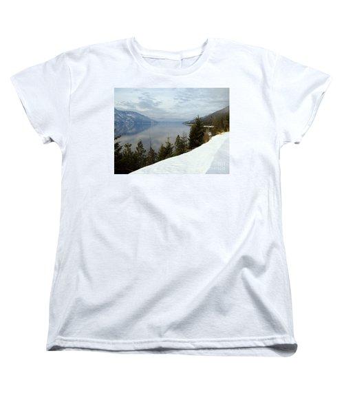 Kootenay Paradise Women's T-Shirt (Standard Cut) by Leone Lund
