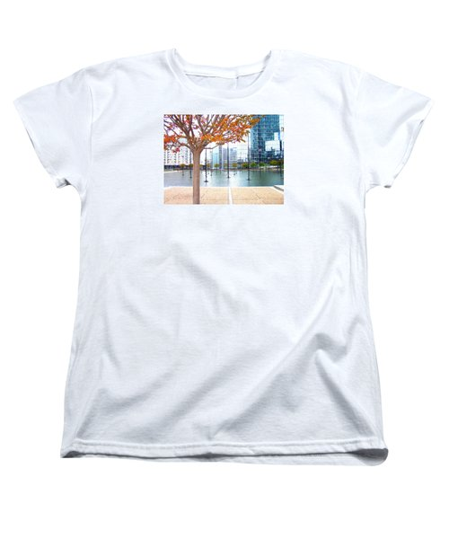 La Defense Women's T-Shirt (Standard Cut) by Oleg Zavarzin