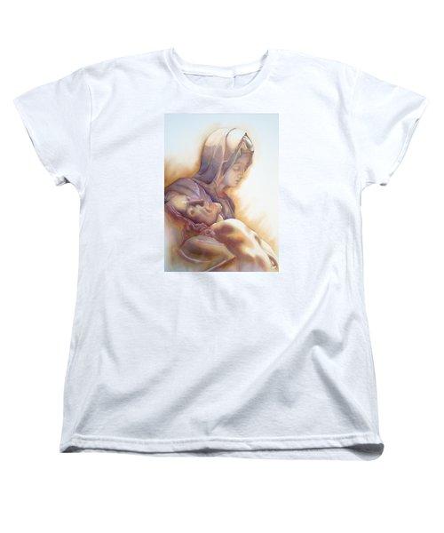 La Pieta By Michelangelo Women's T-Shirt (Standard Cut)