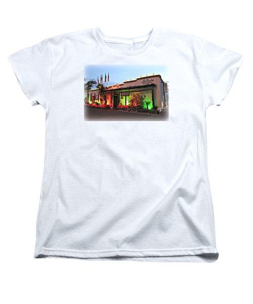 Women's T-Shirt (Standard Cut) featuring the photograph La Posta De Mesilla New Mexico by Barbara Chichester