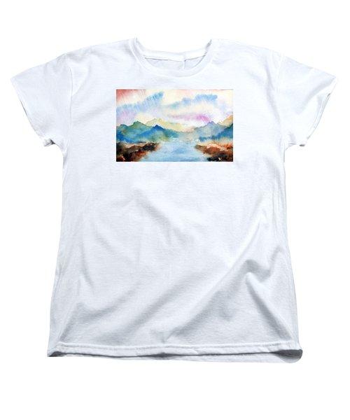 Lake Chuzenji Nikko Women's T-Shirt (Standard Cut)