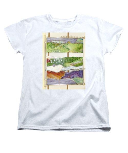 Landscape 2 Women's T-Shirt (Standard Cut) by Karin Thue