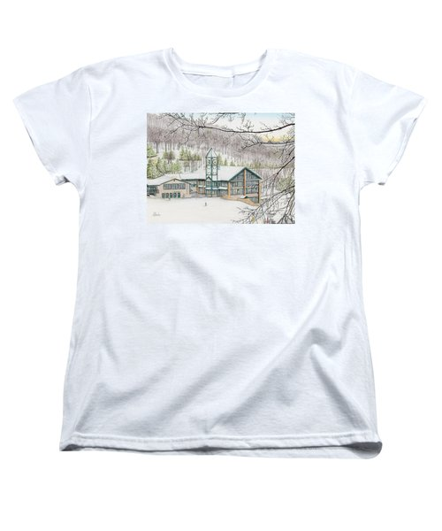 Last Run Of The Day Women's T-Shirt (Standard Cut) by Albert Puskaric