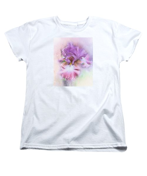 Women's T-Shirt (Standard Cut) featuring the digital art Lavendar Dreams by Mary Almond