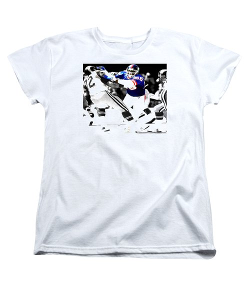 Lawrence Taylor Out Of My Way Women's T-Shirt (Standard Cut) by Brian Reaves