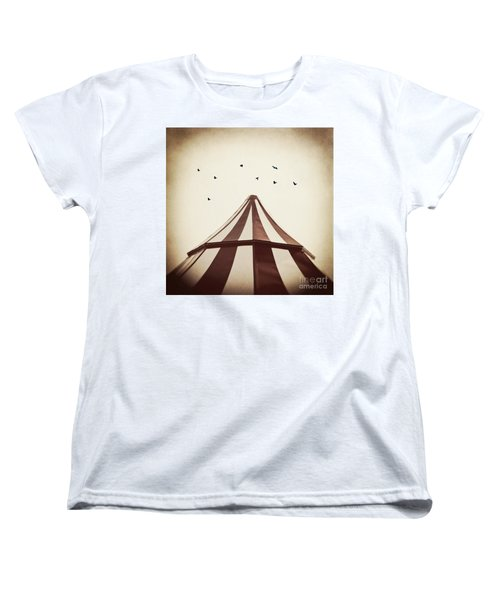 Le Carnivale Women's T-Shirt (Standard Cut) by Trish Mistric