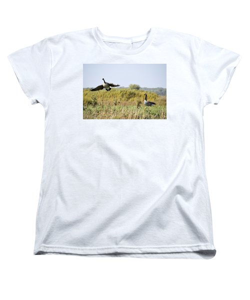 Left Behind Women's T-Shirt (Standard Cut) by Bonfire Photography