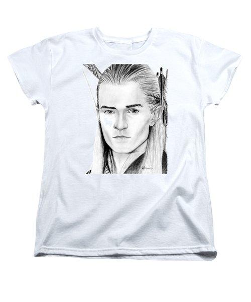 Legolas Greenleaf Women's T-Shirt (Standard Cut) by Kayleigh Semeniuk