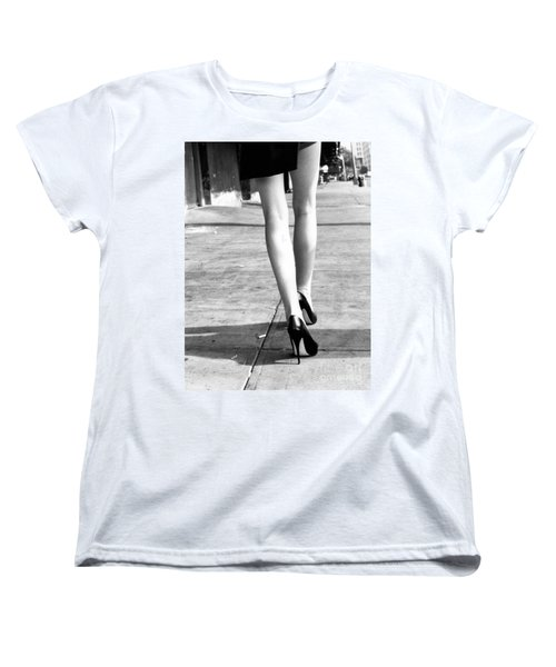 Legs New York Women's T-Shirt (Standard Cut) by Rebecca Harman