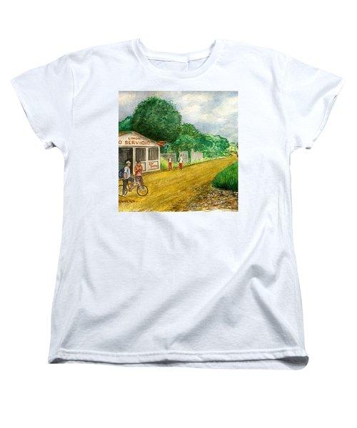 Limon Costa Rica Women's T-Shirt (Standard Cut) by Frank Hunter