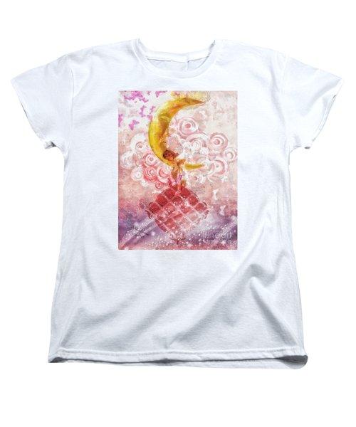Little Princess Women's T-Shirt (Standard Cut) by Mo T
