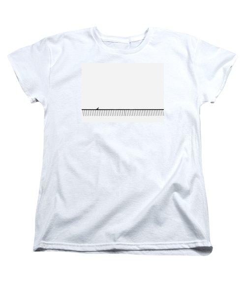 Living On The Edge Women's T-Shirt (Standard Cut) by Prakash Ghai