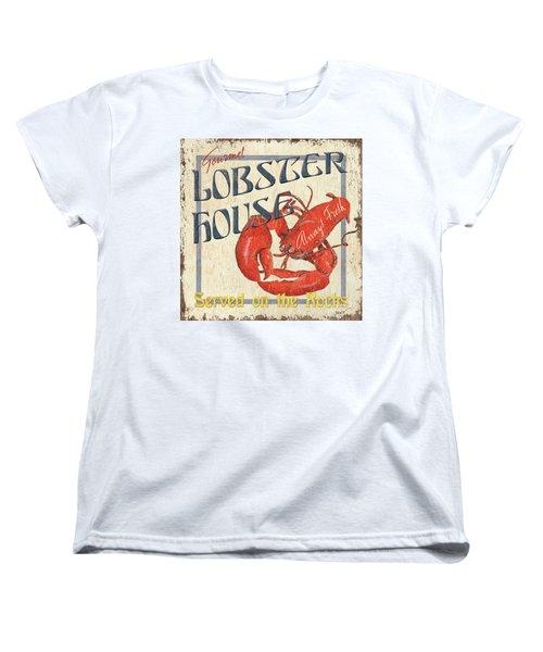 Lobster House Women's T-Shirt (Standard Cut) by Debbie DeWitt