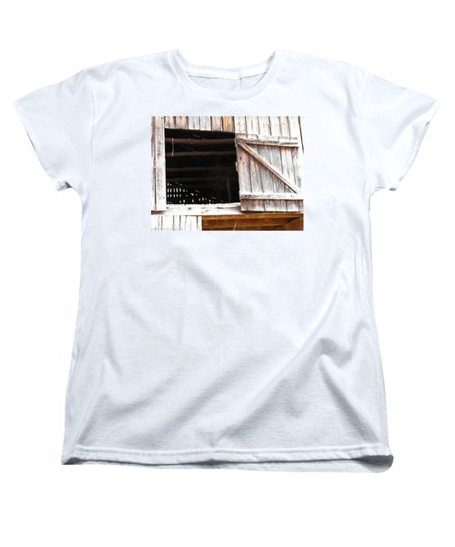 Women's T-Shirt (Standard Cut) featuring the photograph Lofty Hieghts by Nick Kirby