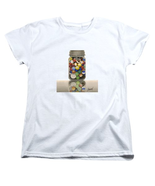 Lost And Found Women's T-Shirt (Standard Cut) by Ferrel Cordle