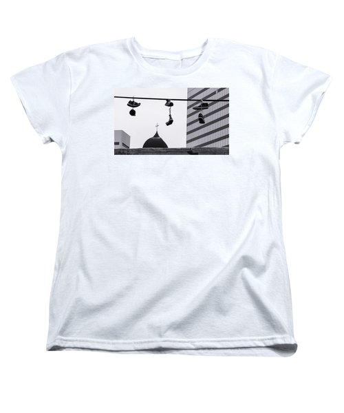 Lost Soles - Urban Metaphors Women's T-Shirt (Standard Cut) by Steven Milner