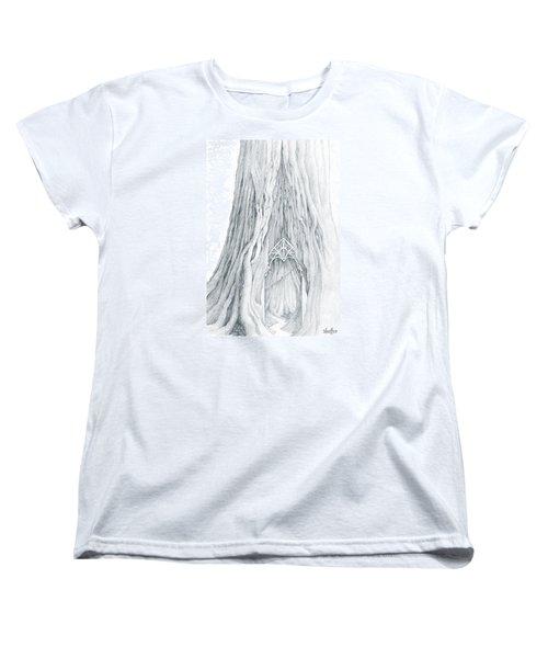 Lothlorien Mallorn Tree Women's T-Shirt (Standard Cut) by Curtiss Shaffer