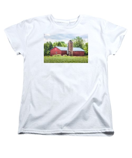 Women's T-Shirt (Standard Cut) featuring the photograph Love Barn by Gary Heller