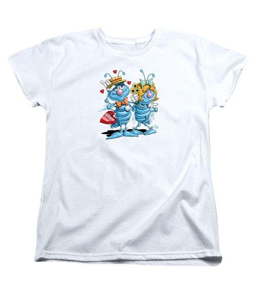 Love Bugs Women's T-Shirt (Standard Cut) by Scott Ross