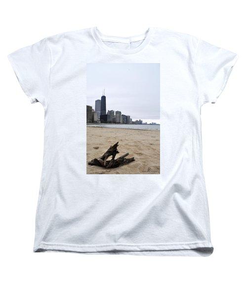 Love Chicago Women's T-Shirt (Standard Cut) by Verana Stark