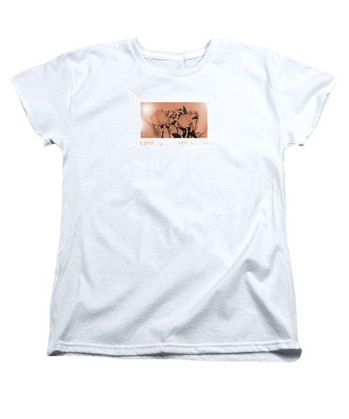 Endless Love. Love Is... Collection 13. Romantic Women's T-Shirt (Standard Cut)